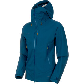 Mammut Kento HS Hooded Jacket Herren poseidon